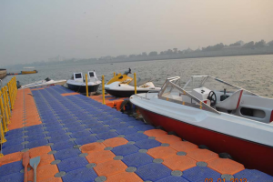 Marina at Sabarmati River Waterfront – Ahmedabad, Gujarat, India
