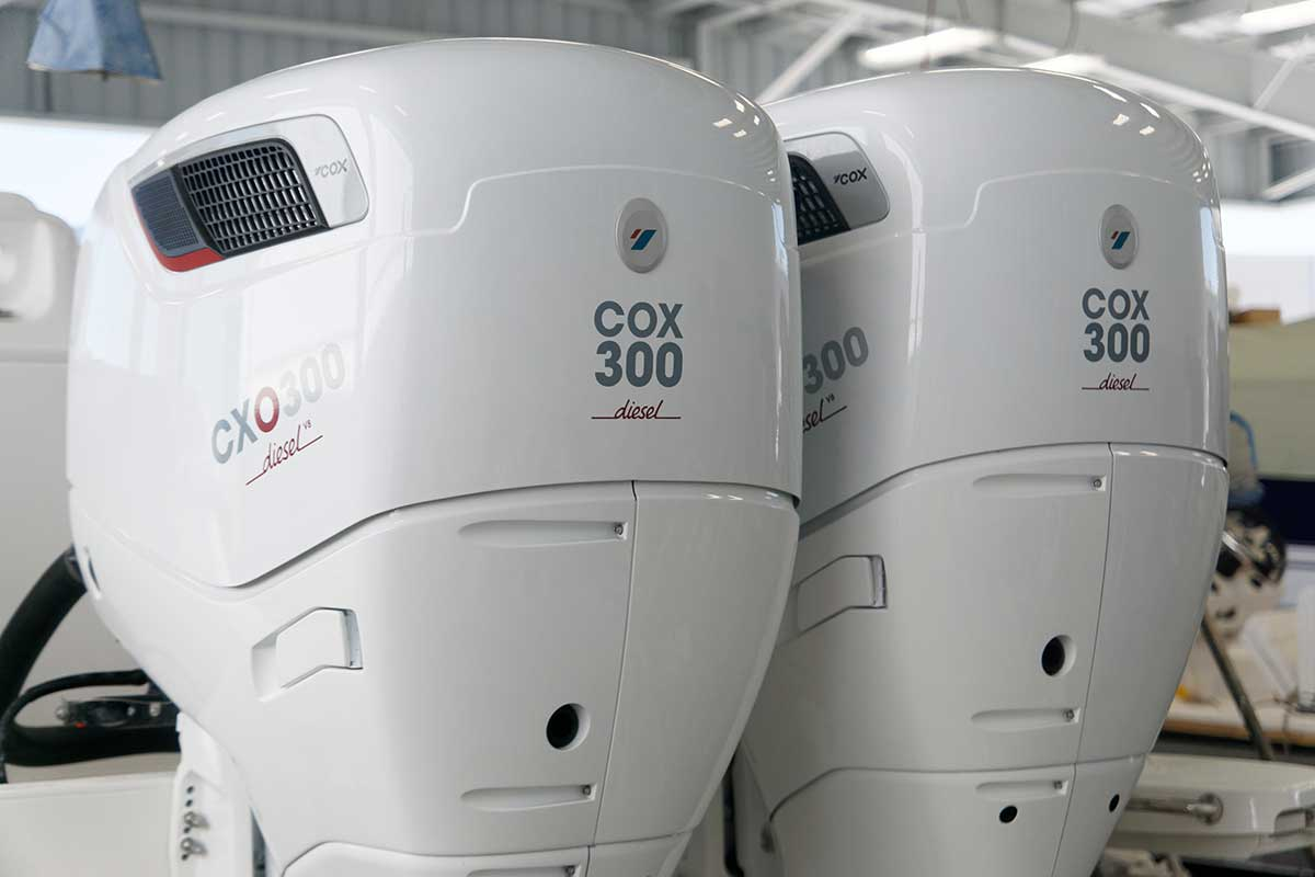 We are now the authorised distributors of Cox Marine in India