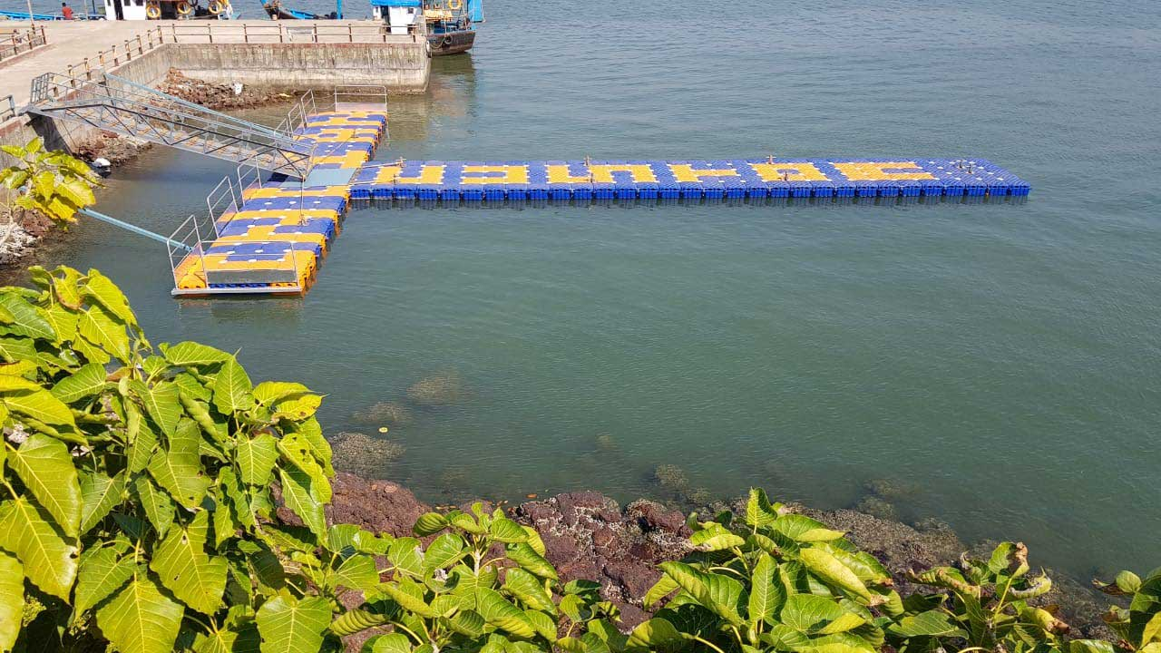 Floating Platform for Indian Customs at Devgad, Maharashtra