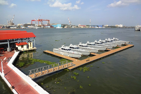 West Coast Marine Pontoon Development India